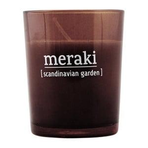 Vonná sviečka Meraki Scandinavian Garden, malá