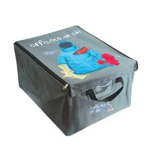 Úložný box na zimné oblečenie Mes affaires de ski