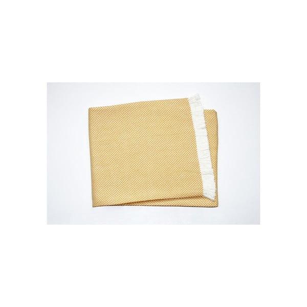 Ľahká deka Skyline Yellow, 140x250 cm