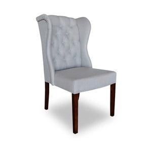 Svetlosivá jedálenská stolička Massive Home Michelle