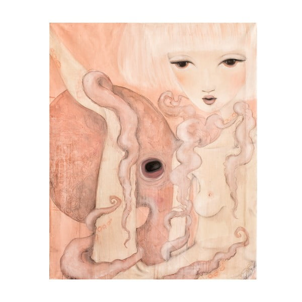 Autorský plagát od Lény Brauner Oktopus, 60x72 cm