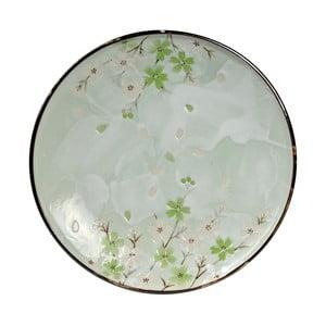 Porcelánový tanier Tokyo Design Studio Green Cosmos, 25.5 cm