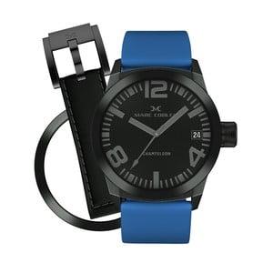 Dámske hodinky Marc Coblen s remienkom a krúžkom na ciferník naviac P67