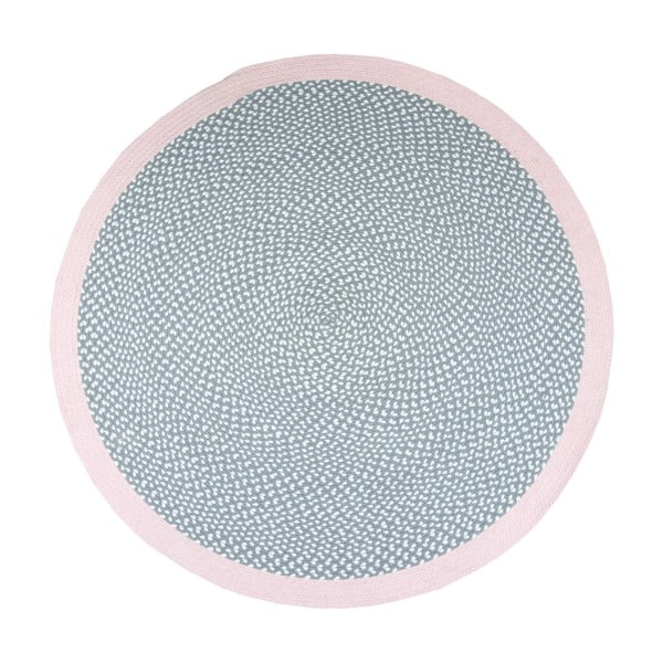 Detský koberec Nattiot Brenda Rose, Ø120 cm
