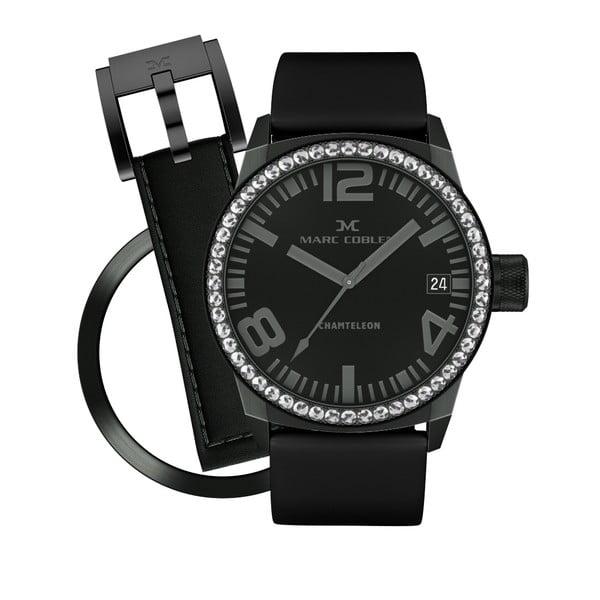 Dámske hodinky Marc Coblen s remienkom a krúžkom na ciferník naviac P64