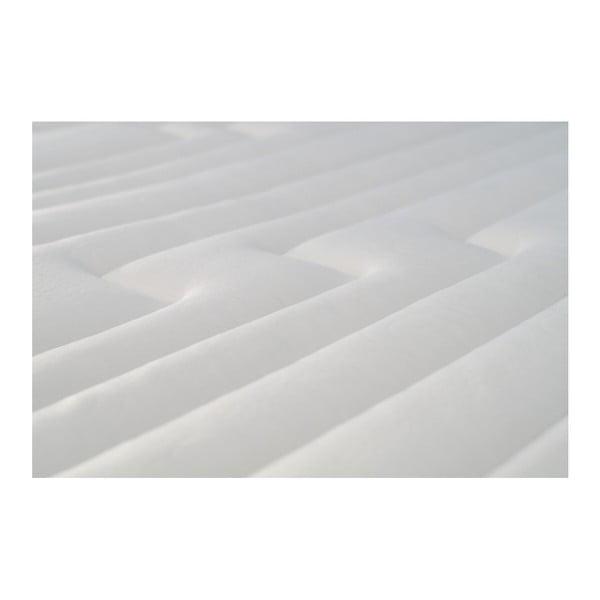 Tmavosivá posteľ s matracom Stella Cadente Maison Mars Europa, 160 × 200 cm