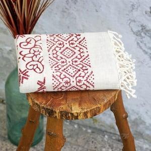 Hamam osuška Cloth Claret Red, 90x180 cm