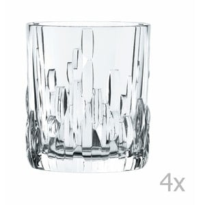 Sada 4 pohárov na whisky z krištáľového skla Nachtmann Shu Fa, 330 ml
