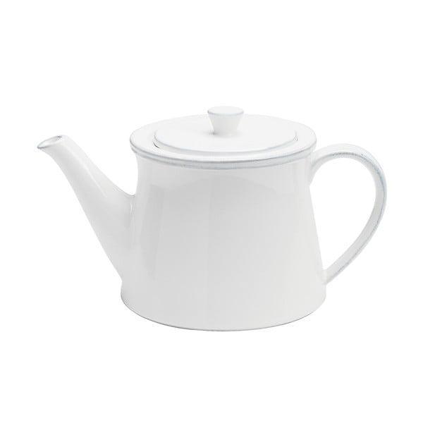 Keramická kanvica na čaj Friso 1500 ml, biela