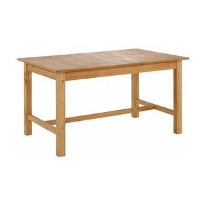 Prírodný jedálenský stôl z borovicového dreva Støraa Randy, 100 x 220 cm