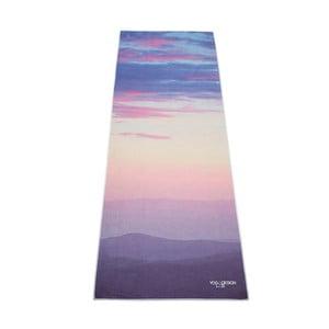 Podložka na jogu Yoga Design Lab Travel Sunrise, 0,9 kg