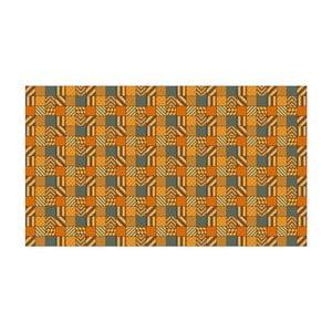 Vinylový koberec Kalia Orange, 52x100 cm