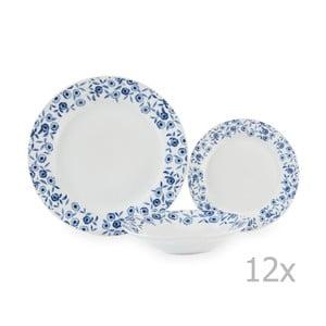 12-dielna porcelánová sada riadu Sabichi Bramble