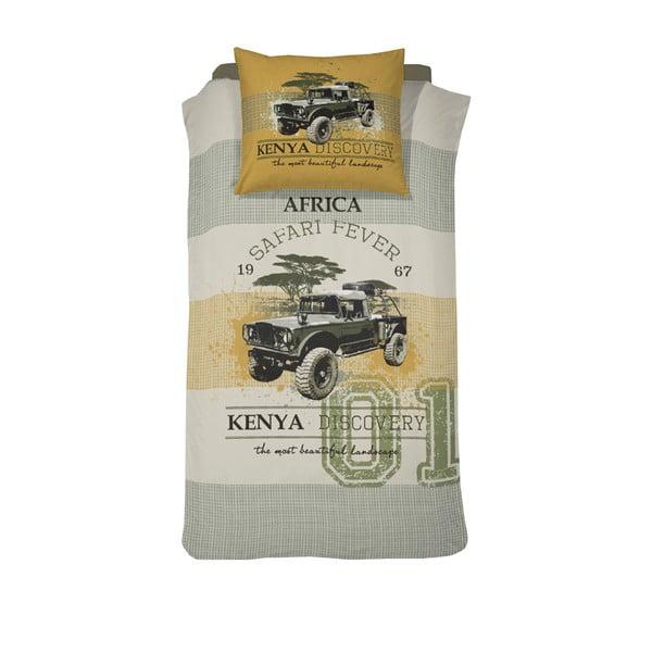 Obliečky Kenia Khaki, 140×200cm