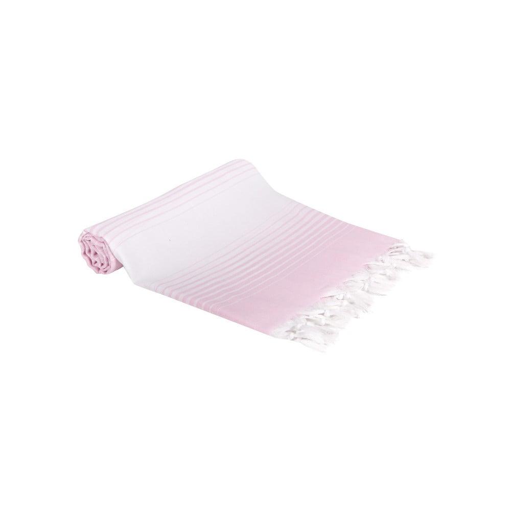Hammam osuška z ručne tkanej bavlny ZFK Mattis, 180 x 100 cm