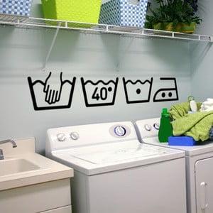 Sada 4 samolepiek Ambiance Washing Machine