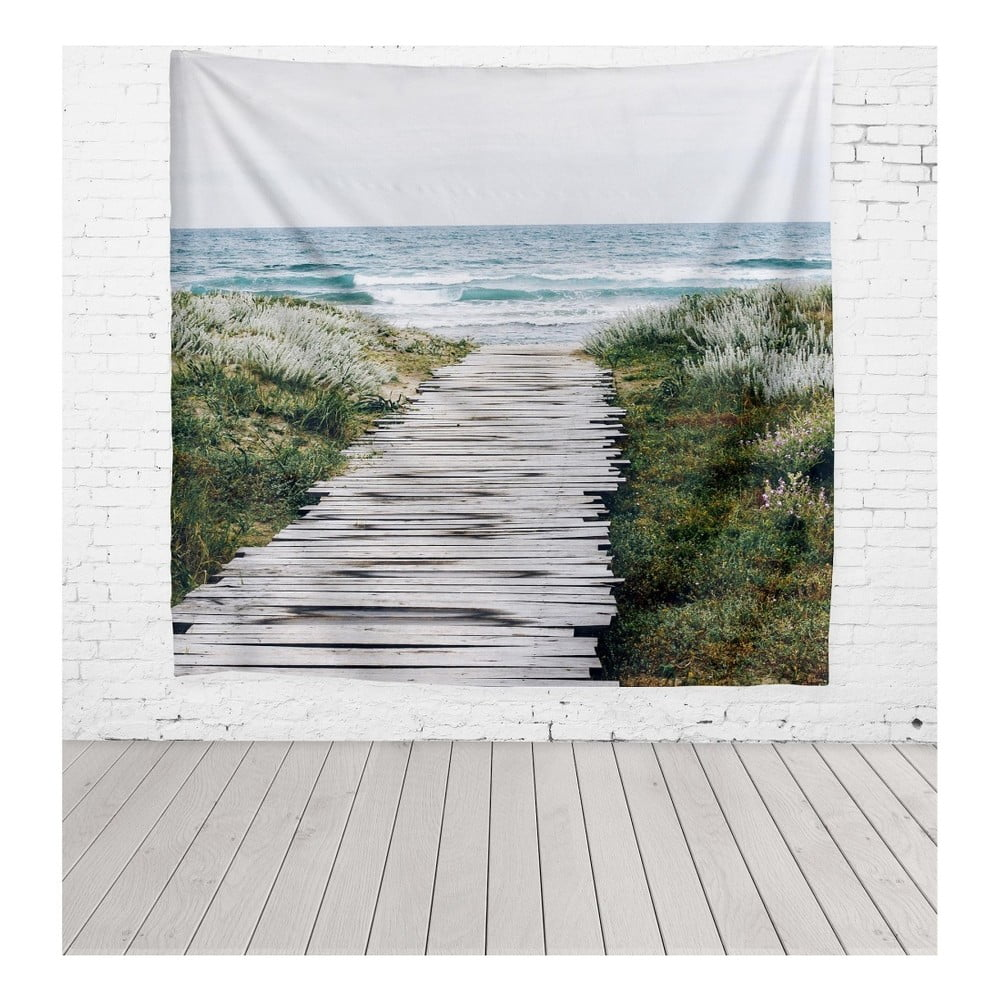 Tapiséria z mikrovlákna Really Nice Things Beach Way 140 × 140 cm