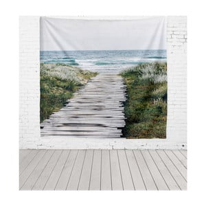 Tapiséria Really Nice Things Beach Way, 140 × 140 cm