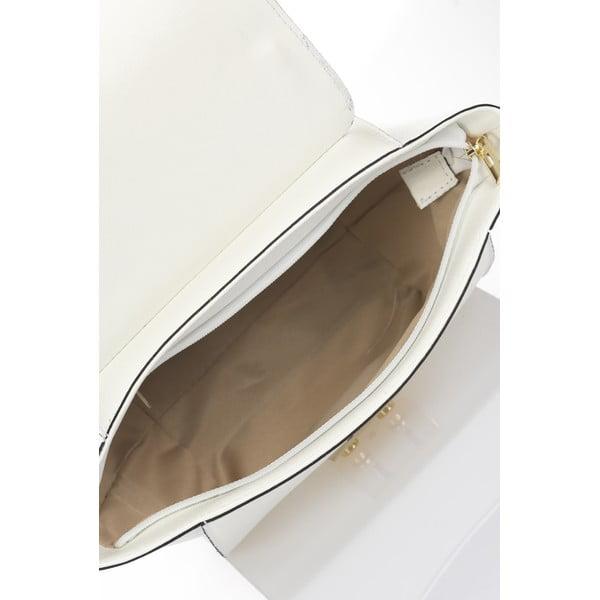 Kožená kabelka Saffiane, béžová