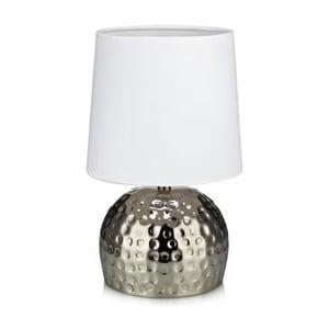 Strieborná stolová lampa Markslöjd Hammer