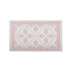 Bavlnený koberec Flair 60x90 cm, púdrový
