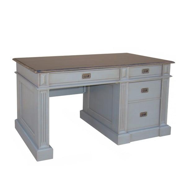 Písací stôl Classical White, 125x60 cm