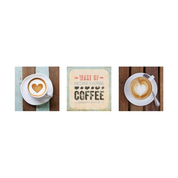 Samolepiace obrazy Vintage Café, 30x30 cm