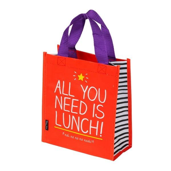 Nákupná taška Happy Jackson All You Need Is Lunch