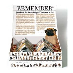 Pamäťová hra s motívmi psíkov Remember