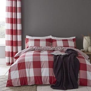 Set obliečky na dvojlôžko Catherine Lansfield Check, 220×230 cm