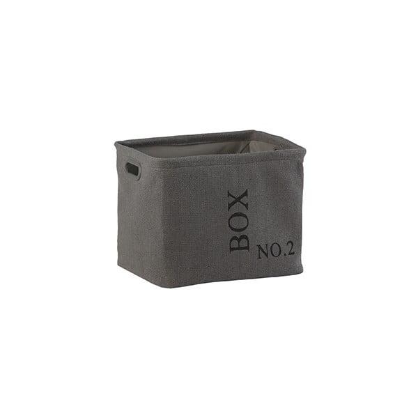 Úložný košík Aquanova Evora36x30cm, sivý