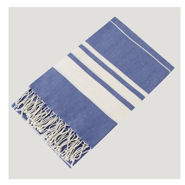 Hammam osuška Bath Style Blue, 100 x 180 cm