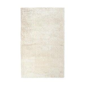 Béžová ručne tkaná kúpeľňová predložka Lucid, 60 x 100 cm