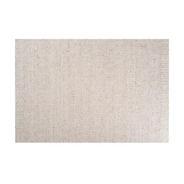 Koberec s prídavkom vlny Justin Ivory, 170x240 cm