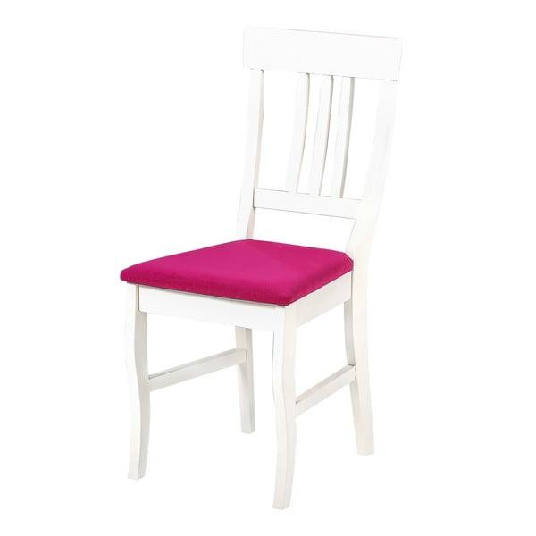 Jedálenská stolička Supreme, ružový podsedák