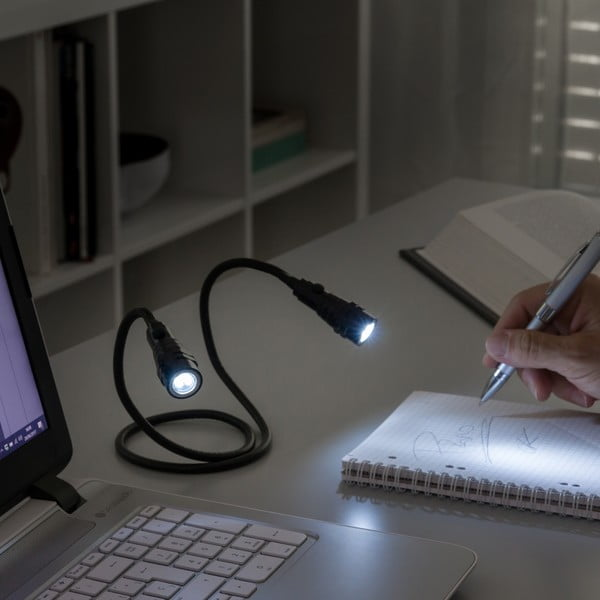 Ohybné magnetické LED svietidlá InnovaGoods Double-Flexible Torch