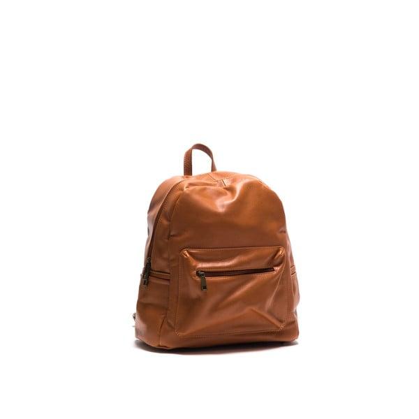 Kožený batoh Anna Luchini 2122 Cognac