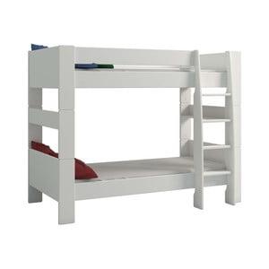 Biela detská poschodová posteľ Steens For Kids, výška 164 cm