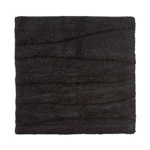 Čierna kúpeľňová predložka Zone Flow, 65 x 65 cm