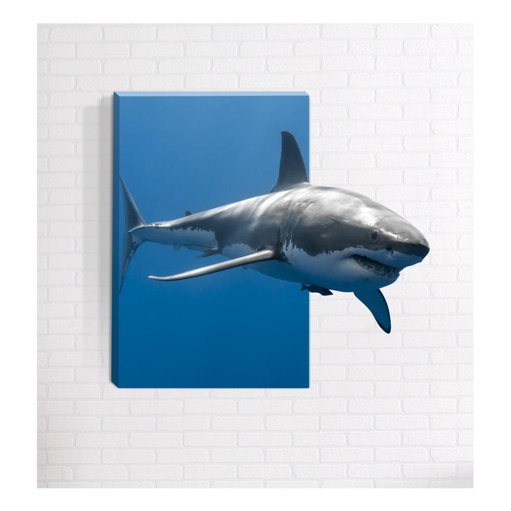 Nástenný 3D obraz Mosticx Predátor, 40 x 60 cm