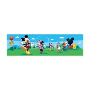 Samolepiaca bordúra AG Design Mickey Mouse II, dĺžka 5 m