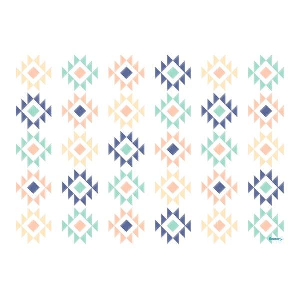 Koberec z vinylu Aztec Multicolor, 120x170 cm