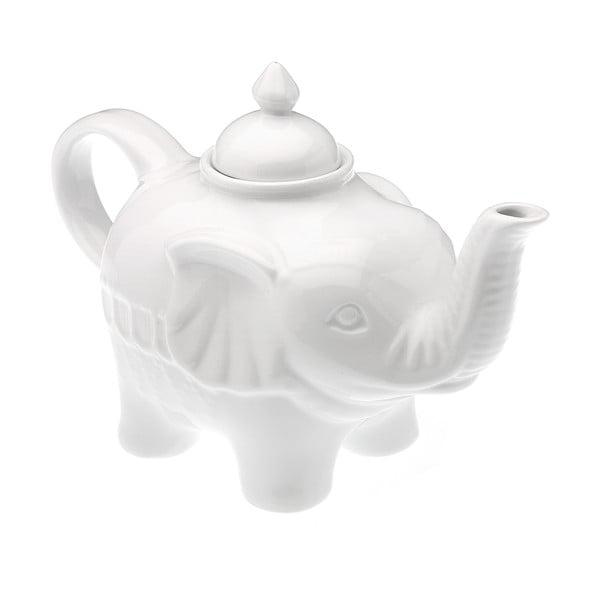 Biela kanvica Versa Elefante, 850 ml