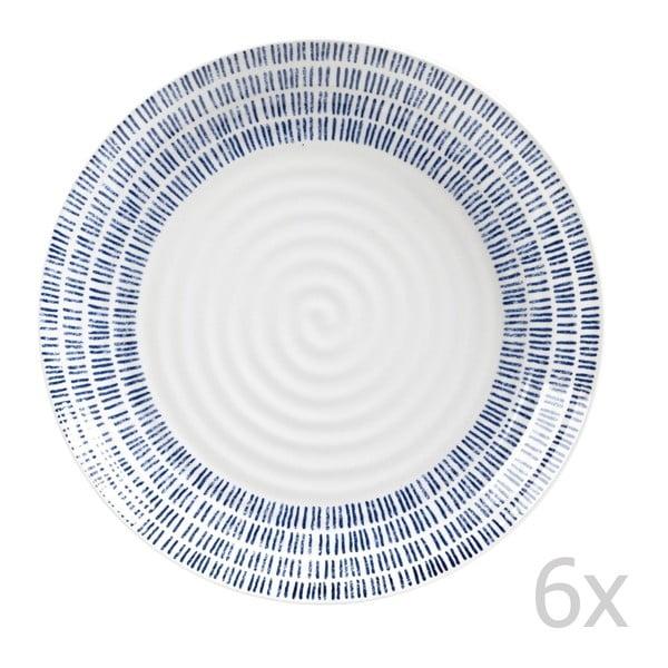 Sada 6 ks tanierov Dashie, 22,5 cm