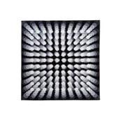 Kúpeľňová predložka Kolor My World VII 90x90 cm, šedá