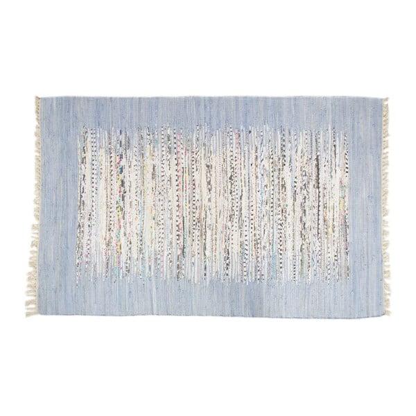Koberec Ikat Sky Blue, 140x200 cm