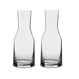 Sada 2 karáf na vodu z krištáľového skla Bitz Fluidum, 300 ml
