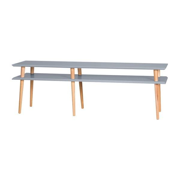 Tmavosivý konferenčný stolík Ragaba Mugo,159cm