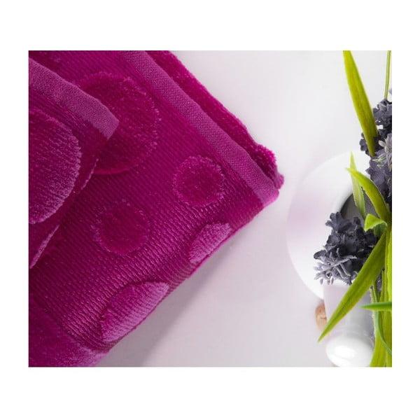 Sada uteráka a osušky Tropical Fuchsia, 50x90 cm a 70x140 cm