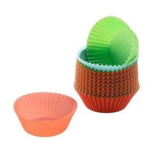 Sada 200 farebných papierových košíčkov na muffiny WMF